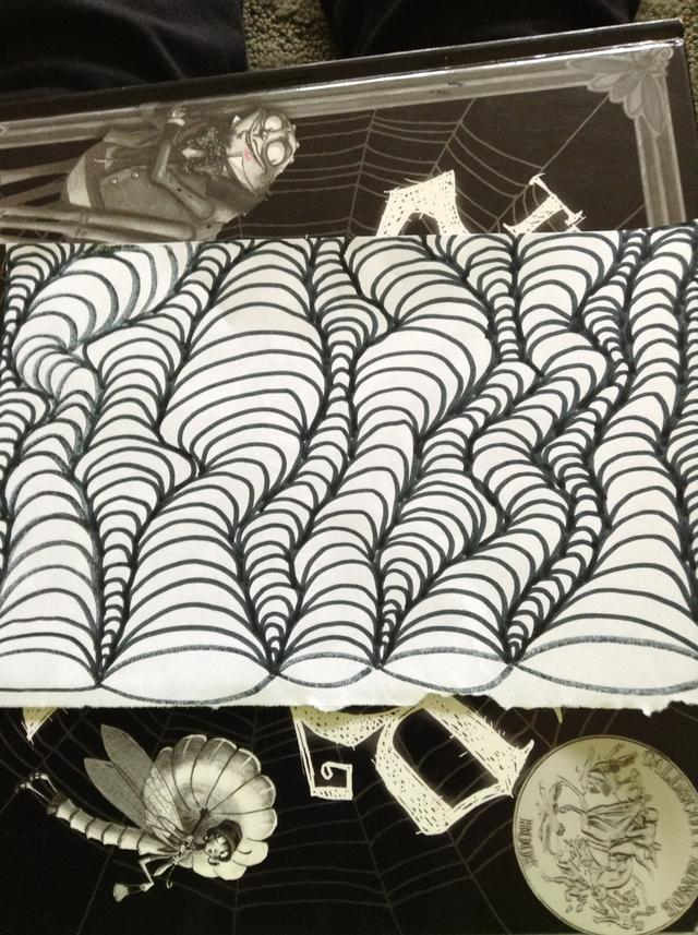 Drawn optical illusion step by step Optical or paper flip want