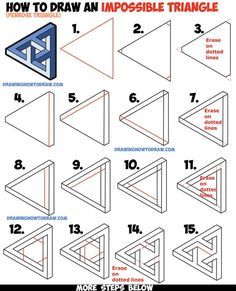 Drawn stare penrose Looks Woven Triangle Draw C