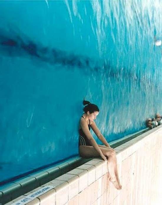 Drawn optical illusion swimming pool Turn Optical illusions 25+ kind