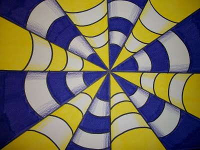 Drawn optical illusion the end How Art Op images Make