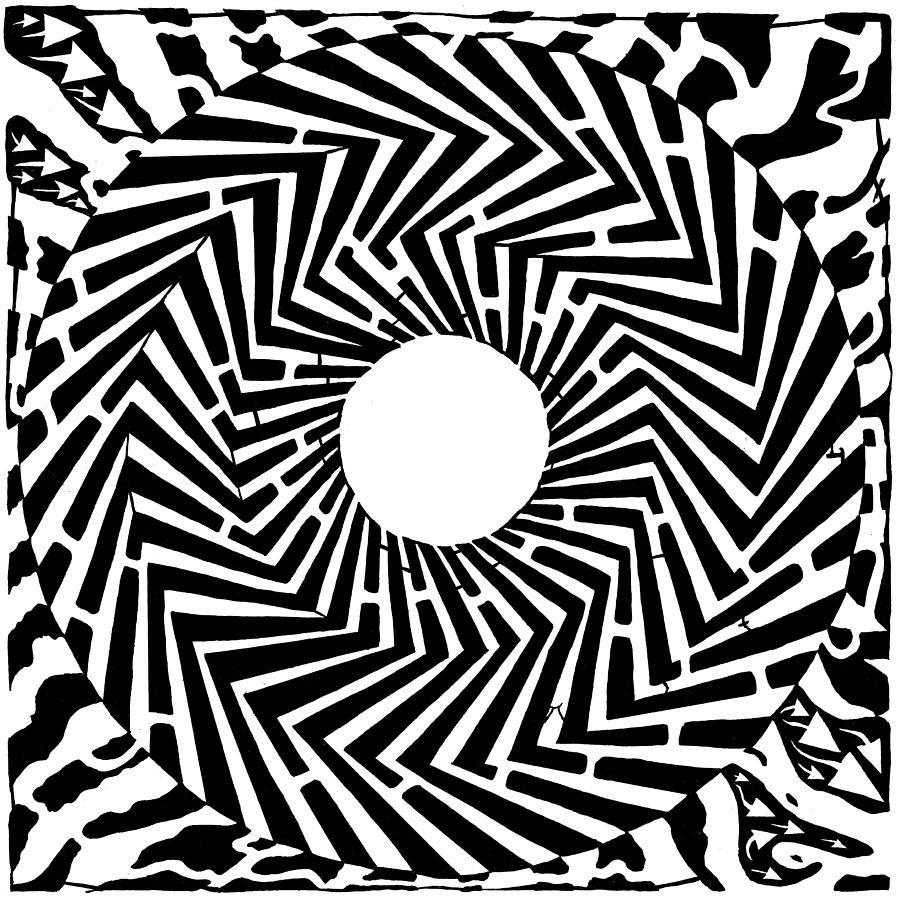 Drawn optical illusion trippy Trippy Trippy Illusion Artist by