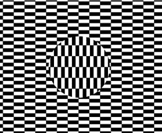 Drawn triipy illusion Illusion to best the eye