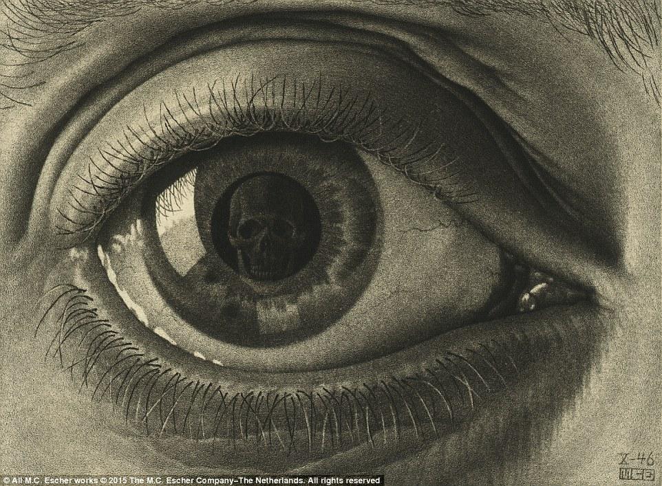 Drawn optical illusion visual illusion Are Dulwich MC have retrospective