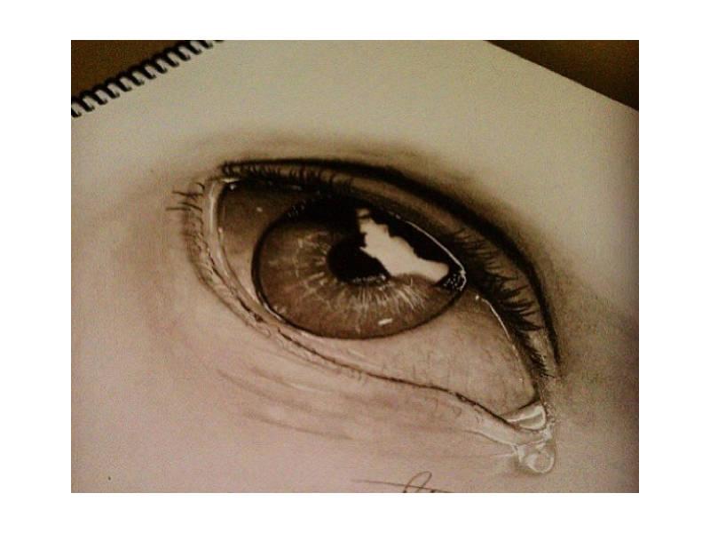 Drawn optical illusion visual illusion Free of Templates Premium Eye