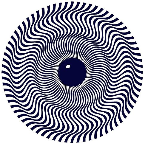 Drawn optical illusion visual illusion Eye 17 Pinterest on eye