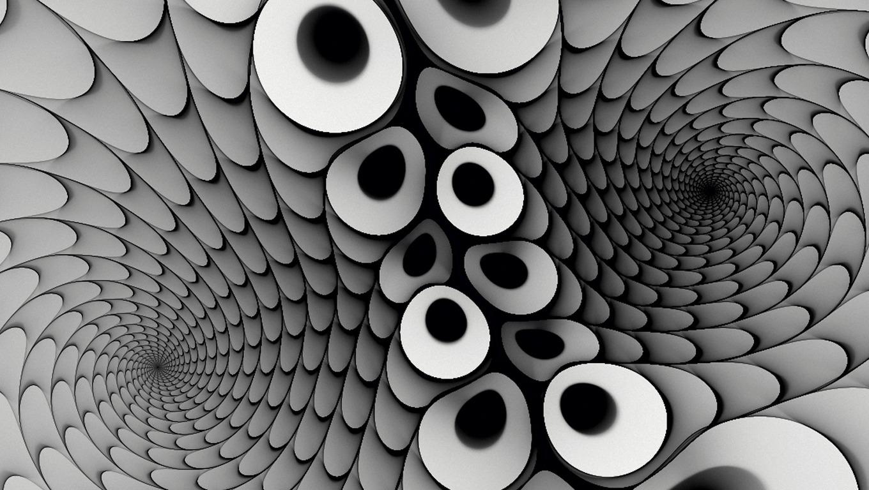 Drawn optical illusion wallpaper Wallpaper HD Illusion Cool