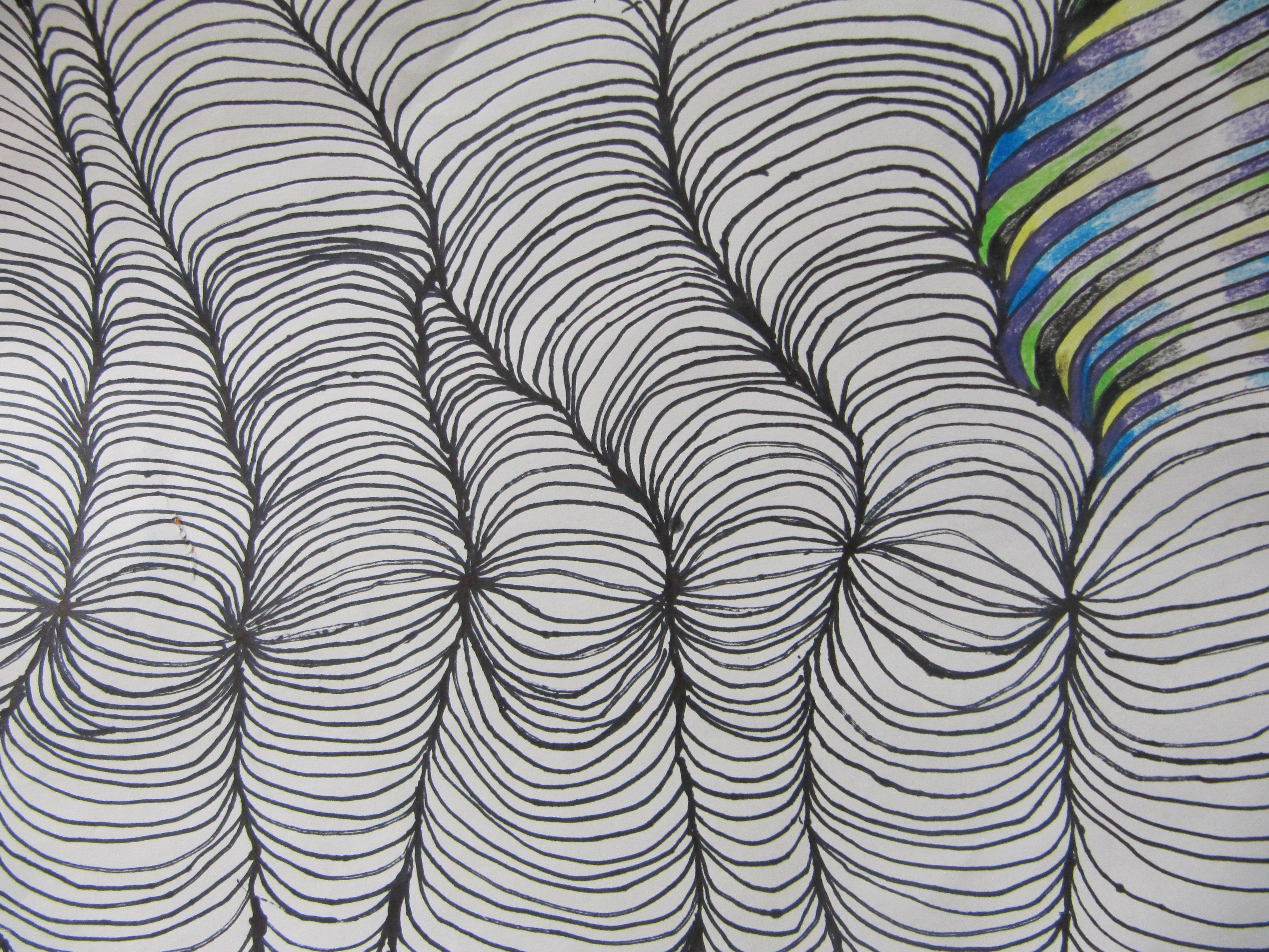 Drawn optical illusion wavy line With GMG Optical Mr Illusions