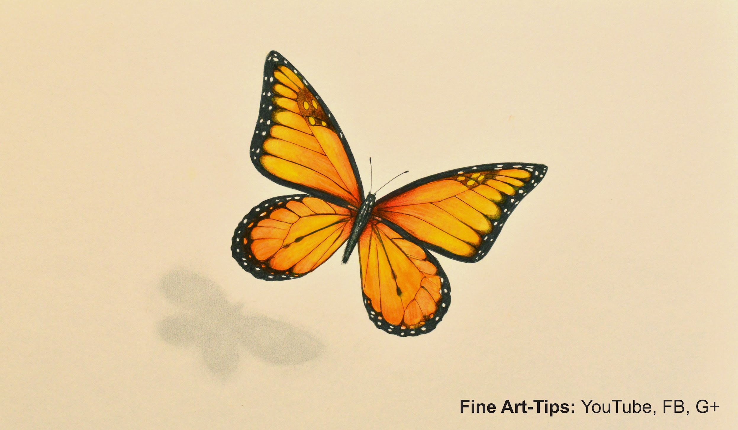Drawn orange colouring Unsubscribe Monarch How With Markers