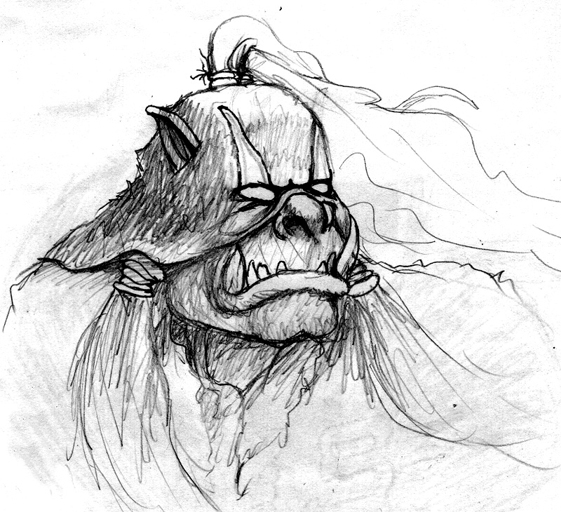 Drawn orc Orc Images Art Pencil Realistic