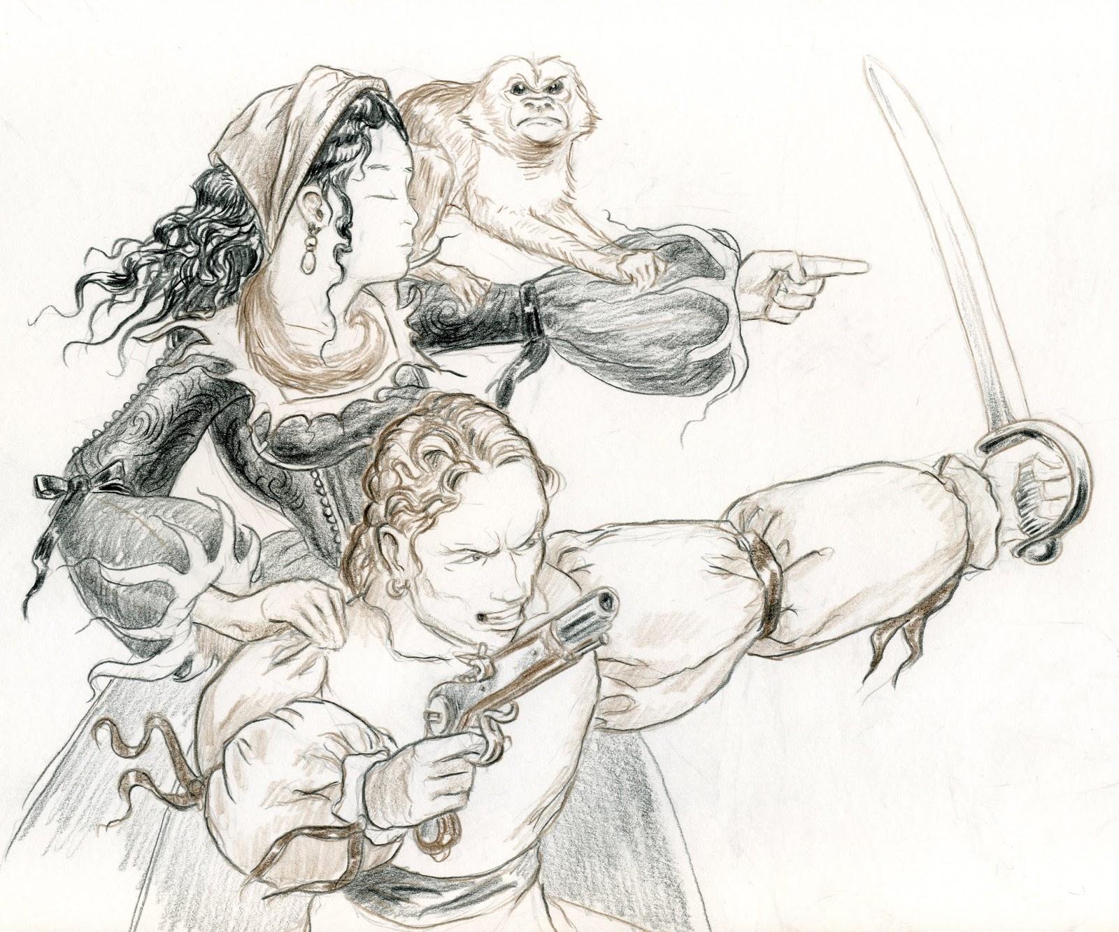 Drawn orc Pencil [Drawing] Blue Boxer 2013