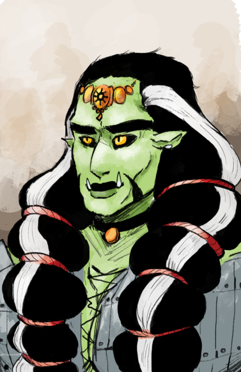 Drawn orc green Green hasn't orc drawing! been