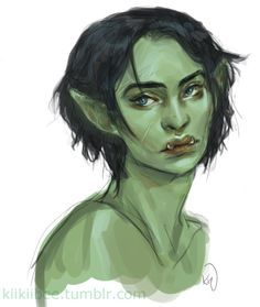 Drawn orc green Orc little on my Pinterest