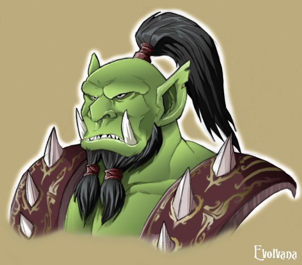 Drawn orc green By by Captain Orc DeviantArt