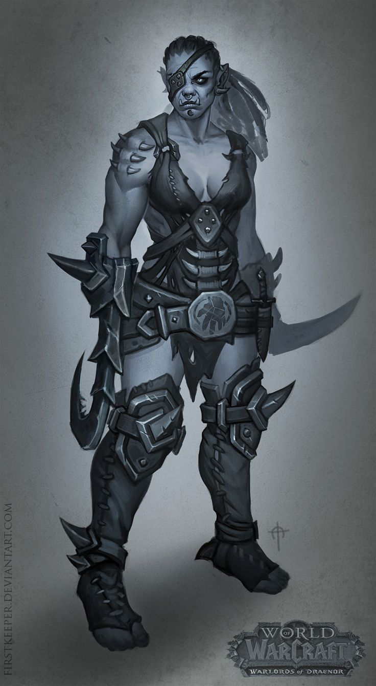 Drawn orc grey ORCS!!! by 363 on best