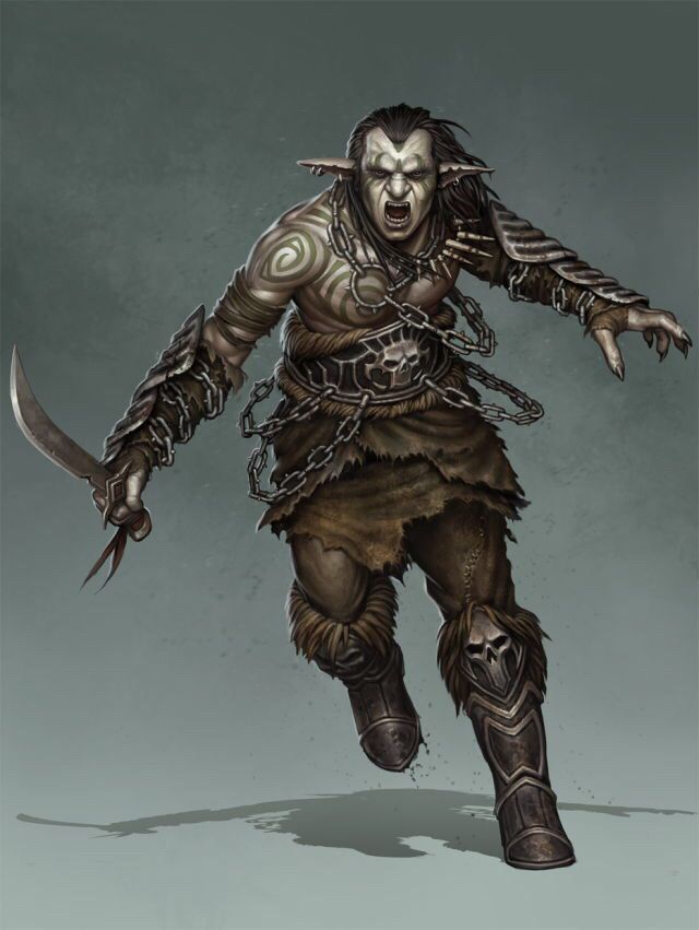 Drawn orc grey Orc on Pinterest by Orcs