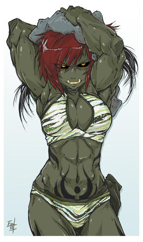 Drawn orc muscular Tg/ Games /tg/ Games Traditional