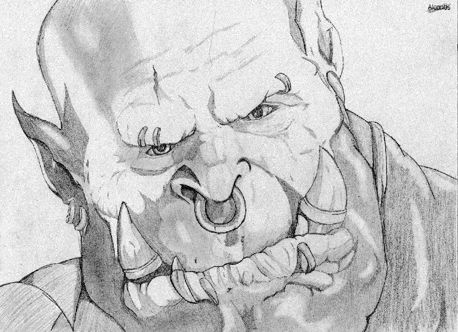 Drawn orc sketch Orc Speed Orc YouTube Speed