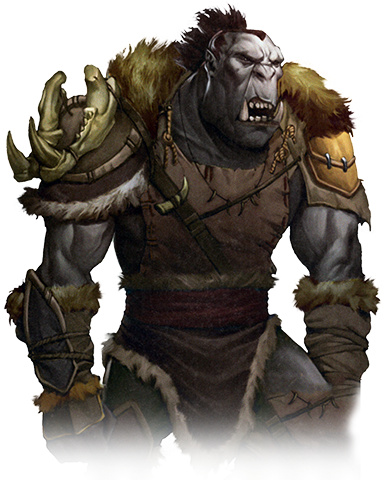 Drawn orc tanarukk Realms  Wikia Orc by