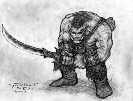 Drawn orc tanarukk On #tanarukk on Explore tanarukk