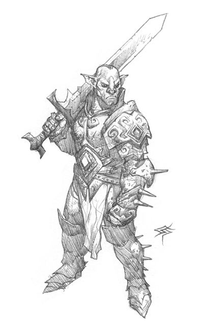 Drawn orc white Pinterest images Blog on Draw
