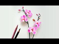 Drawn orchid pencil crayon Pencil orchids Pin Pencils by