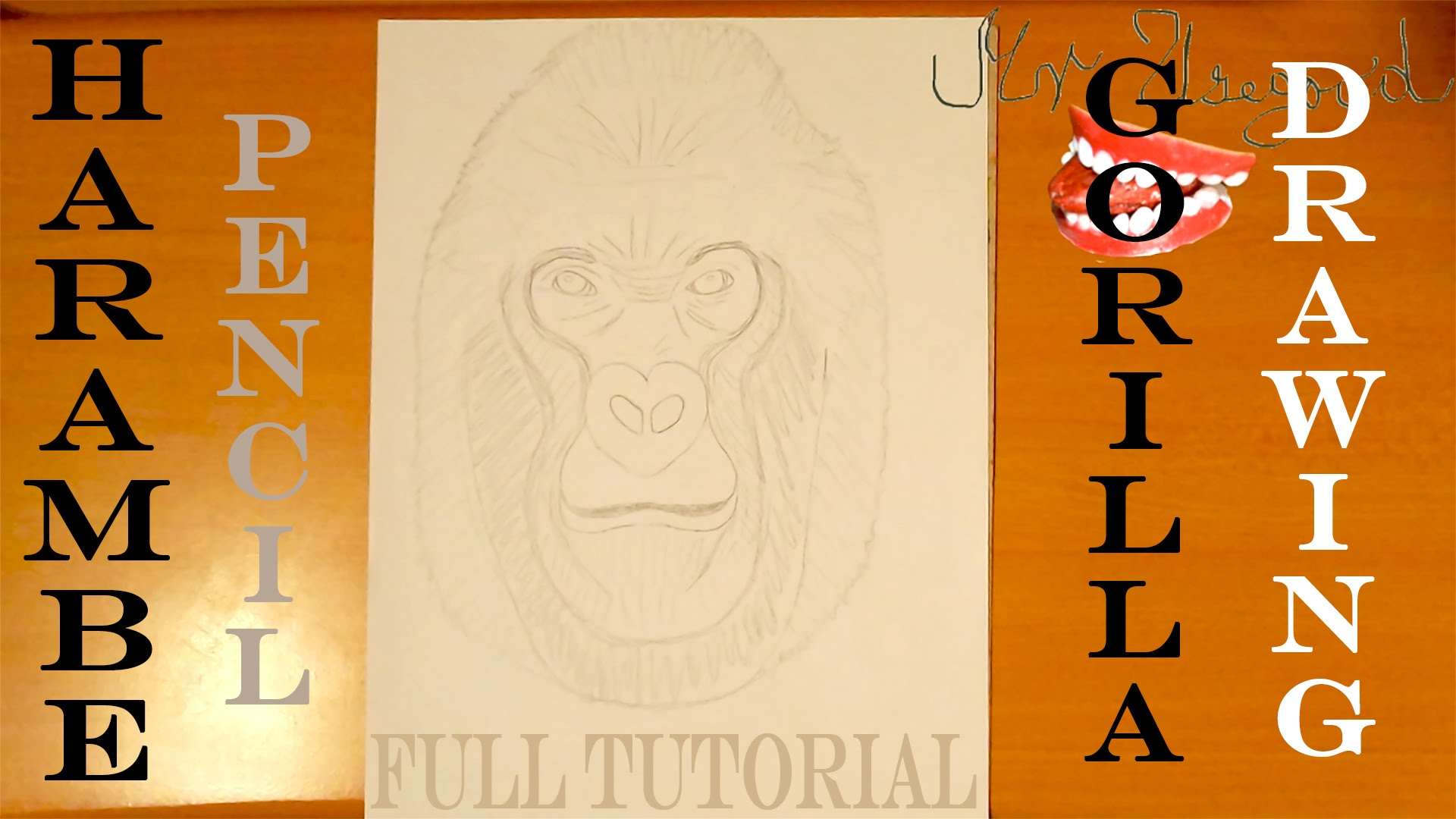 Drawn origami gorilla How How FULL for Easy