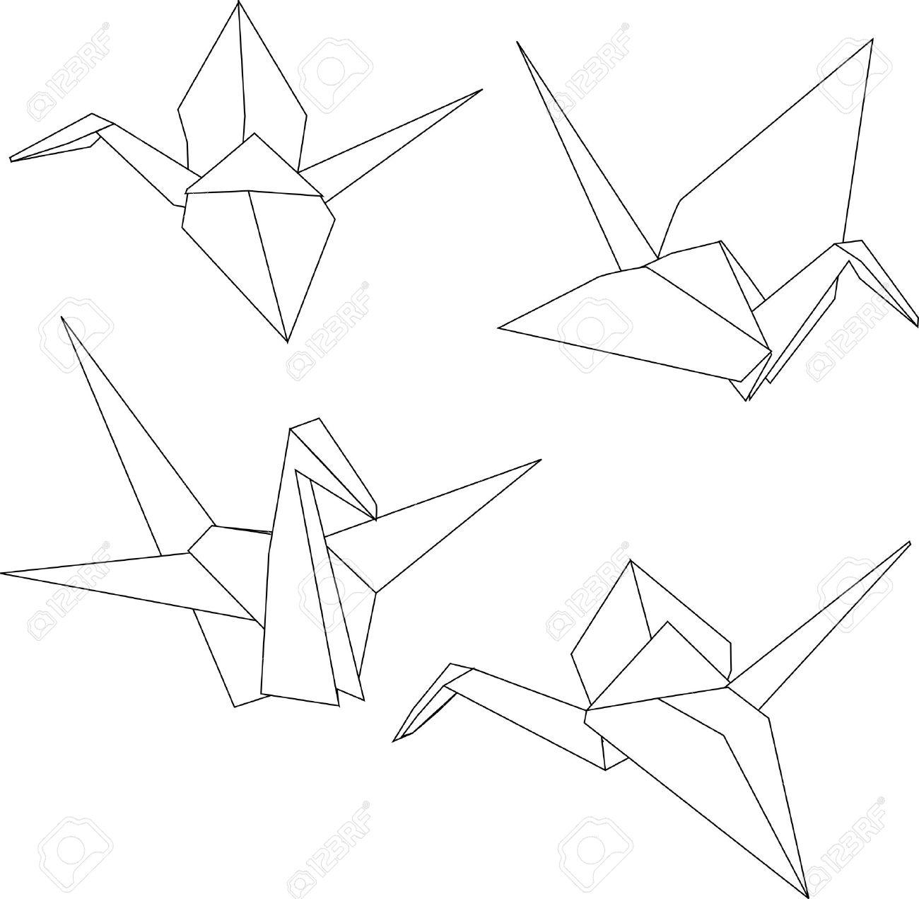 Japanese Crane clipart Japanese instructions origami cliparts japanese
