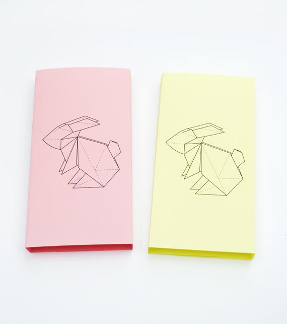 Drawn rabbid origami Wrapper rabbit wrapper rabbit //