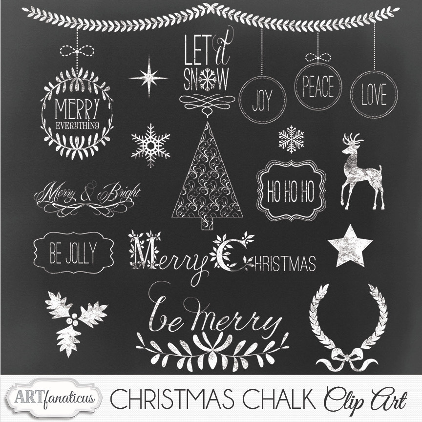 Drawn ornamental chalkboard #7