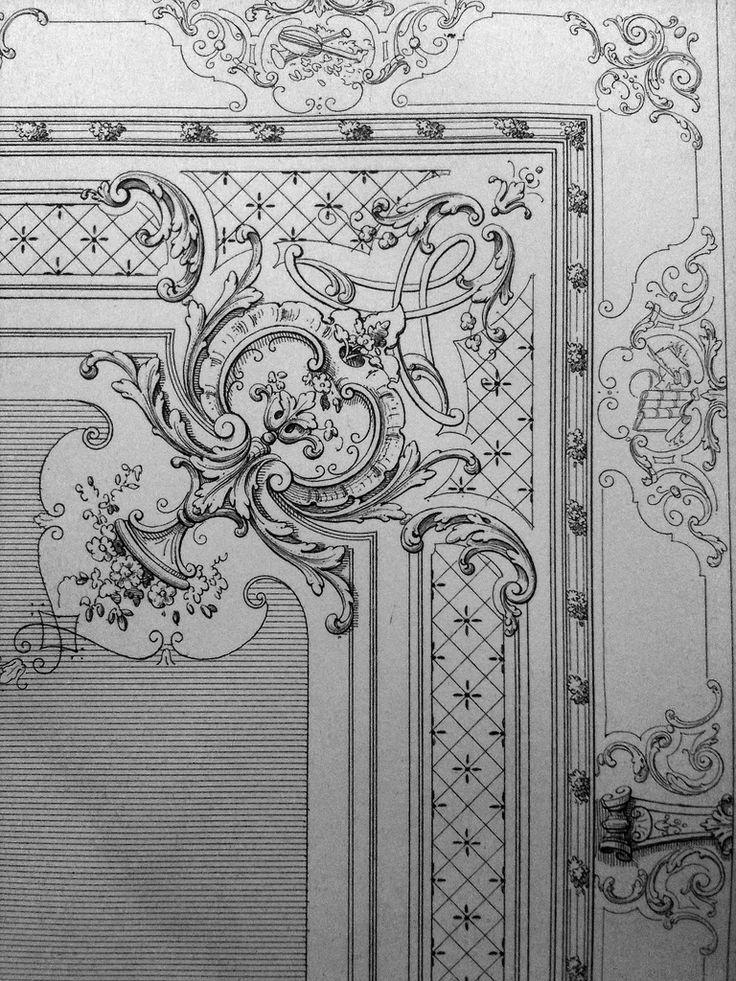 Drawn ornamental classic #3