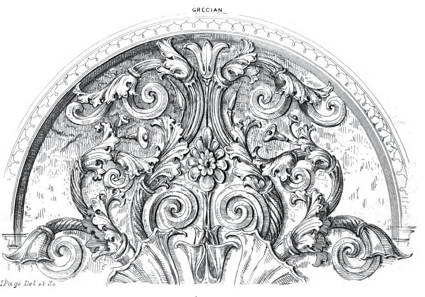 Drawn ornamental drawing #2