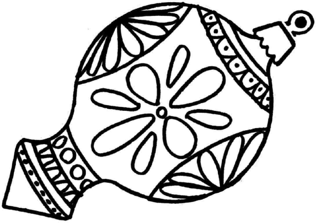 Drawn ornamental printable coloring #11