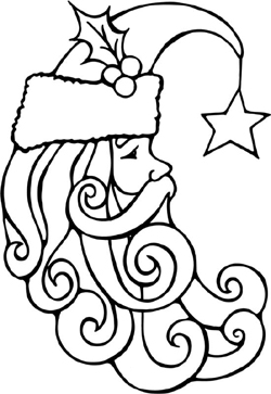 Drawn ornamental xmas Traditional German Society A Christmas