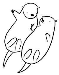 Drawn otter Holding Google kookybat @deviantART on