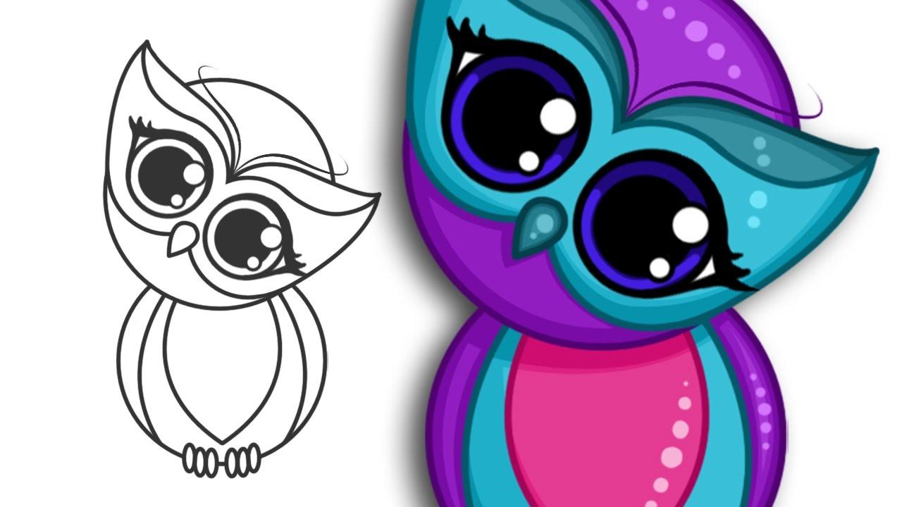 Drawn owlet kawaii Draw How YouTube By cute