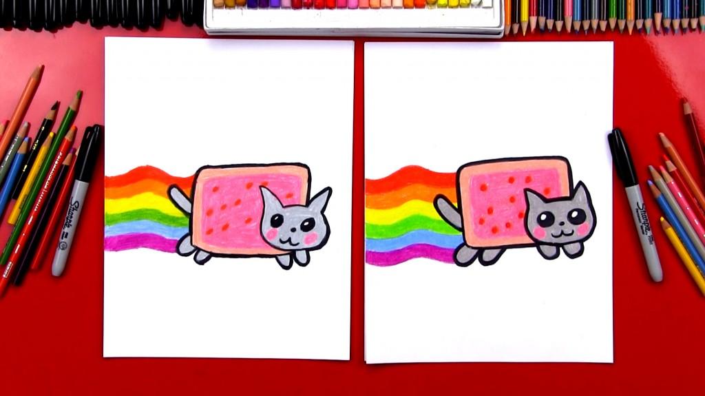 Drawn owlet Art Nyan For Cat The