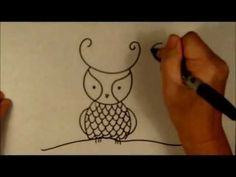 Drawn owl beginner Draw Owls a Tutorial How