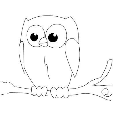 Drawn owl beginner An Kids Lessons Draw Drawing