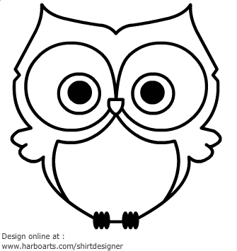 Drawn owl cartoon #10