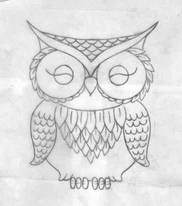 Drawn owl couple 1000+ Pinterest Owl ideas Sketch