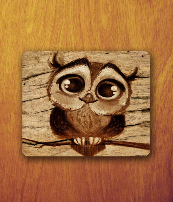 Drawn owl kawaii Cartoon Owl Baby Owl big