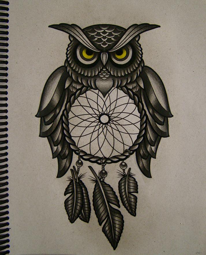Drawn owl moon Filter designs!!! amazing Soooo
