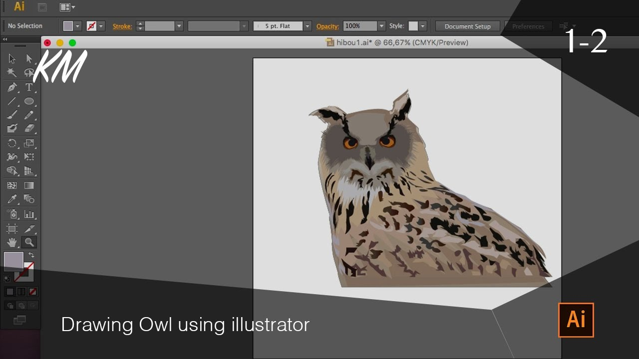 Drawn owl owel Coloring 2 owel drawing illustrator