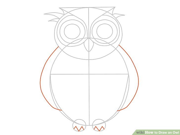 Drawn owl owel Owl an Image 15 (with