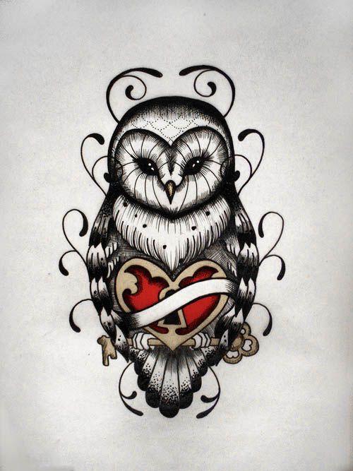 Drawn owl school #10