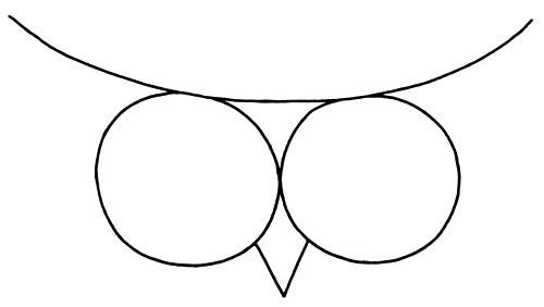 Owlet clipart pencil A in an this an