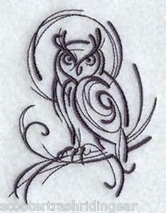 Drawn owl tribal #6