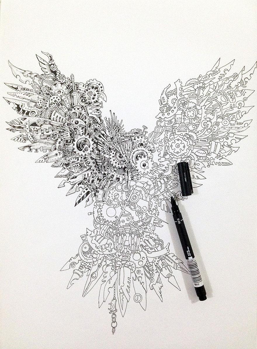 Drawn owl we heart it #4