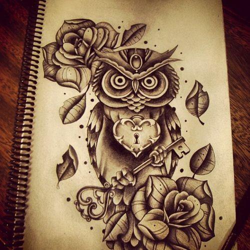 Drawn owl we heart it #3