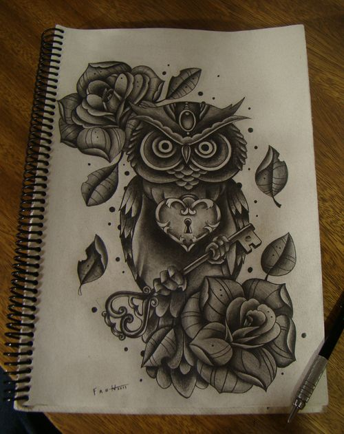 Drawn owl we heart it #10